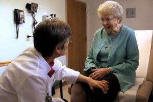 Dr. Kroll & Patient